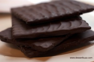 Dark chocolate matzo from Jacques Torres