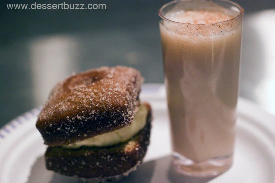 Stephen Colucci's Apple Cider Doughnuts with Calvados ice cream and ...